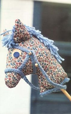 Moldes Para Artesanato em Tecido: Cavalinho com molde
