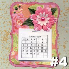 Mini 2013 calendar