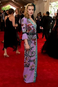 Pin for Later: Get a Load of All the Glamour on the Met Gala Red Carpet! Georgia May Jagger Georgia May Jagger, Celebrity Red Carpet, Celebrity Dresses, Celebrity Style, Celebrity Gossip, Celebrity News, Joan Smalls, Solange Knowles, Behati Prinsloo