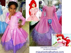 The Little Mermaid Ariel Disney Princess Barbie mermaida party pageant bridesmaid medieval pink bridal graduation dress quinceanera costume
