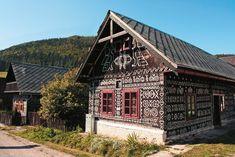 Čičmany Home Fashion, Milan, Cabin, House Styles, Home Decor, Cabins, Cottage, Interior Design, Home Interiors