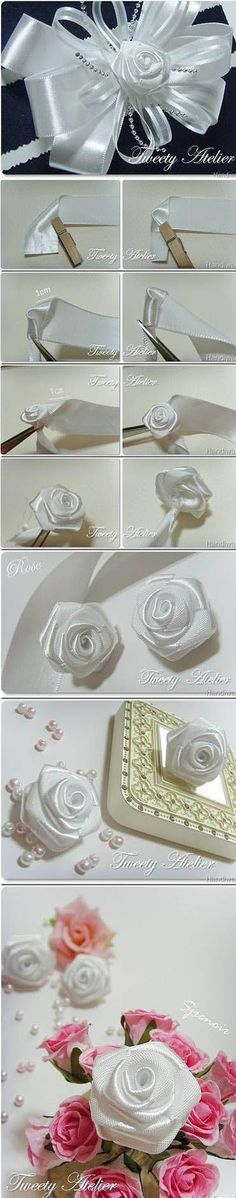 Beautiful White Rose | DIY & Crafts Tutorials