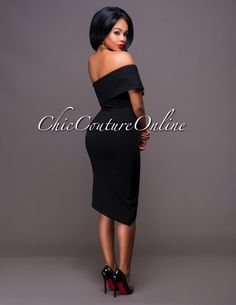 Chic Couture Online - Tory Black Single Shoulder Dress.(http://www.chiccoutureonline.com/tory-black-single-shoulder-dress/)