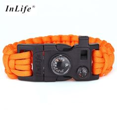 Survival paracord bracelet is essential for all camping, outdoor and wilderness adventures. Survival paracord bracelet increases survival chances by providing resources readily available on you. An em