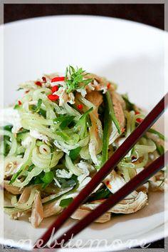 spicy cold chicken salad