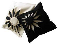 Wool felt cushion with removable cover Bloom Collection by Anne Kyyrö Quinn | design Anne Kyyrö Quinn