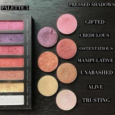 Younique Addiction palettes have been loved by everyone but are set to retire. You can recreate these palettes by using the build your own function, and buy the similar shades. Eyeshadow Looks, Makeup Eyeshadow, Makeup Cosmetics, Beauty Bar, Diy Beauty, Beauty Ideas, Younique Eyeshadow Palette, Eyeshadows, Kylie Makeup