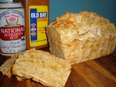 Baltimore bread!   uses Natty Boh and Old Bay!