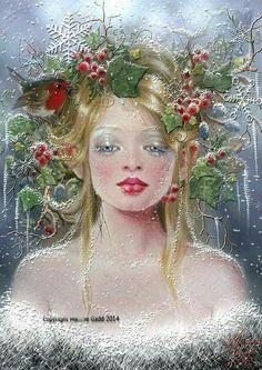 Wallpaper... By Artist Maxine Gadd...