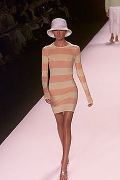 Michael Kors Collection Spring 2000 Ready-to-Wear Fashion Show - Maggie Rizer, Michael Kors Michael Kors Collection, Ready To Wear, Cool Outfits, Fashion Show, High Neck Dress, Bodycon Dress, Vogue, Spring, Model