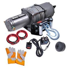 Yescom 4000 lb Electric Recovery Winch w/ Line Stopper Gloves ATV Trailer Truck 12V 1.2 - http://www.caraccessoriesonlinemarket.com/yescom-4000-lb-electric-recovery-winch-w-line-stopper-gloves-atv-trailer-truck-12v-1-2/  #4000, #Electric, #Gloves, #Line, #Recovery, #Stopper, #Trailer, #Truck, #Winch, #Yescom #Towing-Products-Winches, #Towing-Products-Winches, #Truck