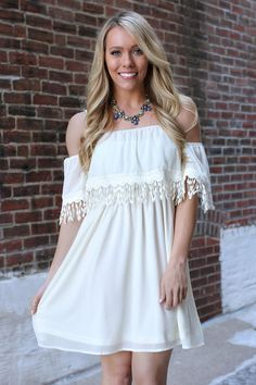 Save the Date Dress - Ivory