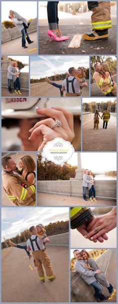 I had the honor of photographing Nikki and her love! This engagement session was so beautiful! Fireman Wedding, Firefighter Wedding, Firefighter Love, Firefighter Engagement Pictures, Engagement Couple, Engagement Shoots, Country Engagement, Engagement Ideas, Fall Engagement