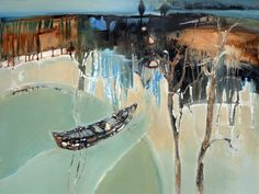 Lyne Marshall - love her palette and the beautiful flow within this painting