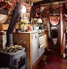Emma Freemantle's galley kitchen