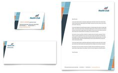health fitness gym business card word template publisher template letterhead template word