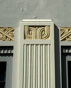 Art Deco Column
