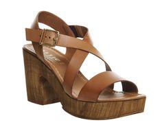 Michigan Cross Strap Sandals