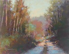 Unknown Journey, pastel, 11 x 14 Barbara Jaenicke