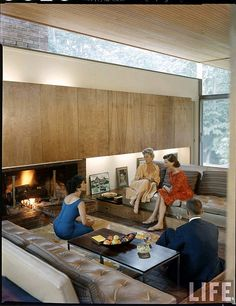 Beattie Residence - Rye, New York - 1958 by MidCentArc, via Flickr