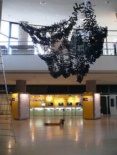 TYPO Berlin - Ebon Heath (NY) Installation