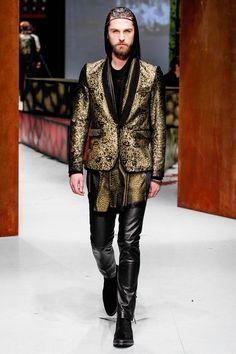 Roberto Cavalli Fall-Winter 2014 Men's Collection