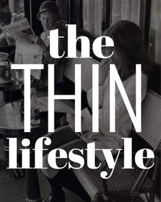 How to live a thin lifestyle--adopting habits that encourage a healthy, slim life & increase your quality of life, inspired by très reasonable French women How To Stay Skinny, How To Get Thin, Skinny Diet, Thin Skinny, Skinny Taste, Thin Motivation, Weight Loss Motivation, Workout Motivation, Fitness Workouts