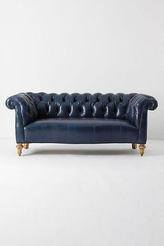 An Anthropologie couch I can't afford to go with my Anthropologie chair, that I also can't afford