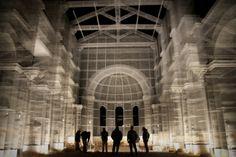 L'installazione di Edoardo Tresoldi per la Basilica paleocristiana di Siponto © Giacomo Pepe