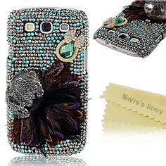 Luxury colorful Lovely Jewel bling phone case For Samsung Galaxy S3 SIII S 3 i9300 9300 handmade crystal rhinestone hard cover-in Phone Bags & Cases from Electronics on Aliexpress.com | Alibaba Group