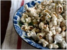 Spicy Dill Popcorn