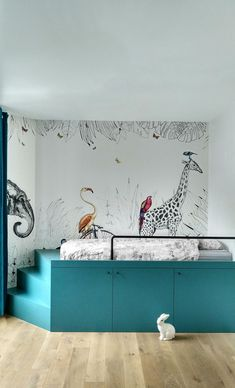 40 Adorable Nursery Room Ideas For Boy 23 Nursery Room, Boy Room, Child's Room, Ideas Habitaciones, Small Bedroom Storage, Kids Room Design, Design Bedroom, Kids Furniture, Bedroom Furniture