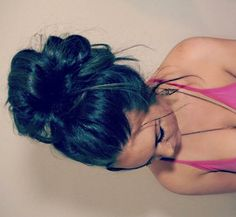 Messy buns are just great.