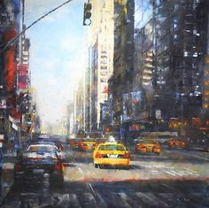 """Midtown Afternoon"" by Mark Lague"