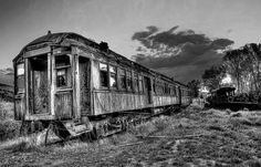 Nevada City Ghost Town Train by Daniel Hagerman