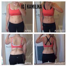 Amazing progress using the Bikini Body Program by Muffin Topless