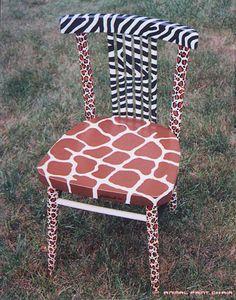 -Animal Painted Furniture by Ingo