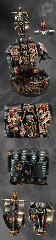 Ancient Crusader, Black Templars Dreadnought by Forge World by Bohun