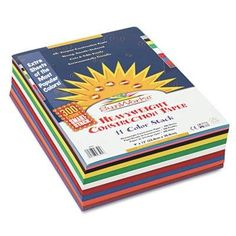 Sunworks  3 Pack  Construction Paper SmartStack 58 Lbs 9 X 12 Assorted 300 SheetsPack Product Category Paper  Printable MediaArt Paper  Sketching Pads -- Check out the image by visiting the link.-It is an affiliate link to Amazon.