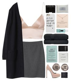 """""""lobster and céline for my all my babies"""" by annamari-a ❤ liked on Polyvore featuring T By Alexander Wang, Monki, Yves Saint Laurent, Chanel, Kocostar, Dogeared, NARS Cosmetics, Clinique, Byredo and Muji"""