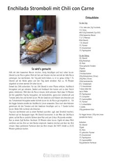 Enchilada Stromboli mit Chili con Carne | Das Knusperstübchen