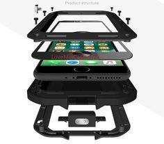 Leathlux Custodia iphone 8 Plus Cover Silicone [Ultra Sottile