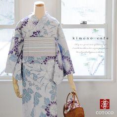 浴衣 Yukata Kimono, Kimono Fabric, Kimono Top, Fashion Prints, Fashion Art, Love Fashion, Summer Kimono, Kanzashi, Japanese Outfits