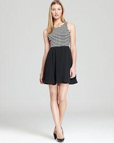Aqua Ponte Dress