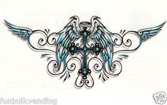 tramp stamp tattoos ....If I get one this is the one I really like. Definitely something with a cross.