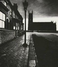 undr:    Evening light in Burslem, c.1937 by Bill Brandt