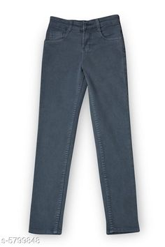 Jeans Elegant Denim Boy's Jean Fabric: Denim Pattern: Solid Multipack: Single Sizes:  Age Group (1 - 2 Years) - 18 in Age Group (2 - 3 Years) - 20 in Age Group (3 - 4 Years) - 22 in Age Group (4 - 5 Years) - 24 in Age Group (5 - 6 Years) - 26 in Age Group (6 - 7 Years) - 28 in Age Group (7 - 8 Years) - 30 in Age Group (8 - 9 Years) - 30 in Age Group (9 - 10 Years) - 32 in Age Group (10 - 11 Years) - 32 in Age Group (11 - 12 Years) - 34 in Country of Origin: India Sizes Available: 0-1 Years, 1-2 Years, 2-3 Years, 3-4 Years, 4-5 Years, 5-6 Years, 6-7 Years, 7-8 Years, 8-9 Years, 9-10 Years, 10-11 Years, 11-12 Years, 12-13 Years   Catalog Rating: ★4 (868)  Catalog Name: Elegant Denim Boy's Jeans CatalogID_873597 C59-SC1180 Code: 864-5799848-6711