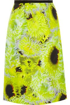 50% OFF Tibi! Like these lovely Athena neon silk skirt at  http://ethniceclectic.com