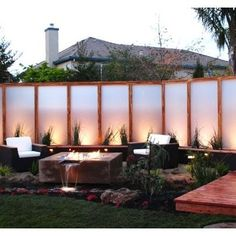 trendy Ideas for modern landscape design backyard privacy screens Backyard Privacy Screen, Privacy Fence Designs, Outdoor Privacy, Privacy Walls, Outdoor Areas, Privacy Screens, Garden Privacy, Yard Crashers, Modern Landscape Design