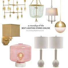 A Roundup of the Best Lighting Stores Online